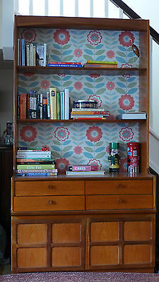 BEAUTIFUL RETRO / VINTAGE ***NATHAN*** bookcase / cupboard / sideboard /