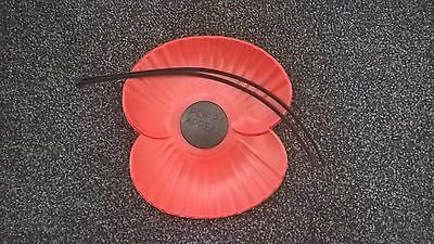 Rbl Extra Large Lorry/van Bumper Poppy, New For Display For Pride & Remembrance.