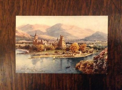 Postcard Of FORT AUGUSTUS THE MONASTRY  by R. TUCK. Early 1900's Gd. Cond.