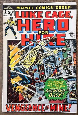 Luke Cage, Hero For Hire #2. 1972. Second Appearance Luke Cage