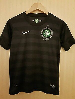 celtic fc boys 2013 away top- age 12-13years