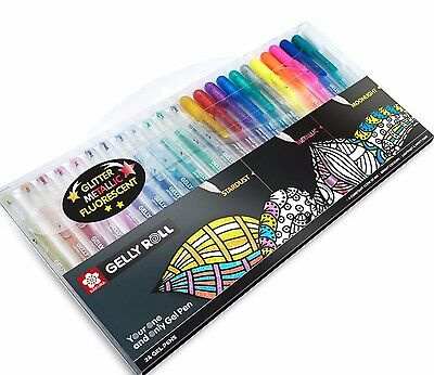 Sakura Gelly Roll  Pen Set of 24 Pens, Great Card Making Gel Pens