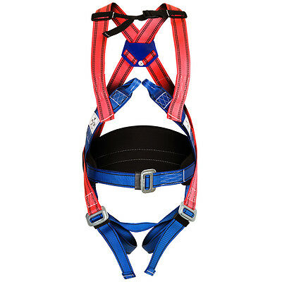 SAFETY HARNESS-Fall Arrest & Restraint Harness 4-Point Safety & Workwear**