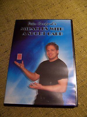 Miracles with a short card.  Card magic DVD