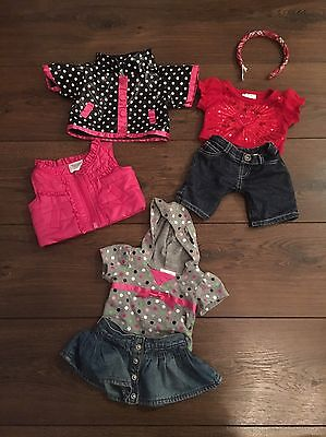 Build A Bear Clothes And Accessories Bundle