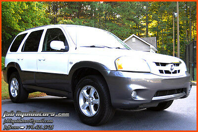 2005 Mazda Tribute S Sport Utility 4-Door 05 2-Owners Spare Cruise Sunroof Roof Rack MP3 Airbags 28MPG Low Reserve