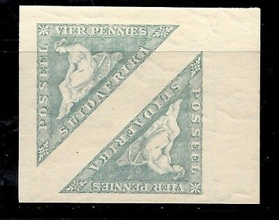South Africa - 4d pair - MNH superb large margins (SUID AFRIKA)