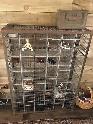 Vintage Industrial Metal Shelving