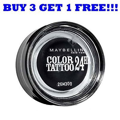 Maybelline Eyeshadow Colour Tattoo 24Hr Timeless Black 60