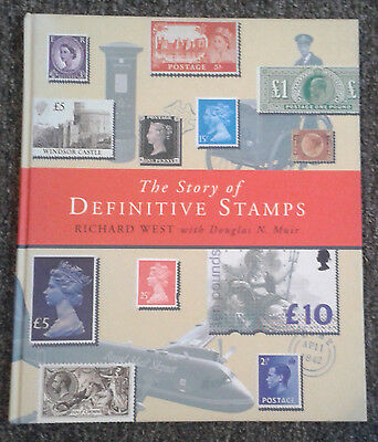 The Story Of Definitive Stamps - Hardback Book