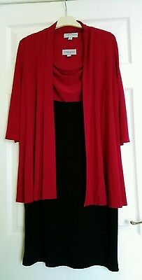 Mother of the Bride/Wedding Guest Dress&Jacket size ,12by Ronni Nicole