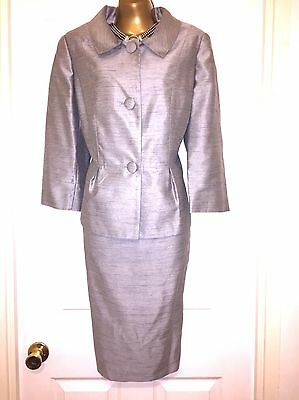 DAVID EMMANUEL Beautiful Dress And Jacket Special Occasion Outfit Size 12