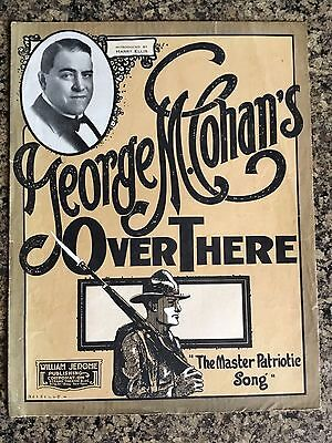 Over There 1918 Cohan WWI Sheet Music