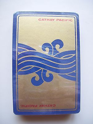 Cathay Pacific Airline Deck Of Sealed Playing Cards.(Sealed=Mint)