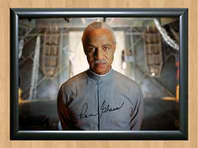 Ron Glass Firefly Twilight zone Signed Autographed A4 Photo Print Memorabilia