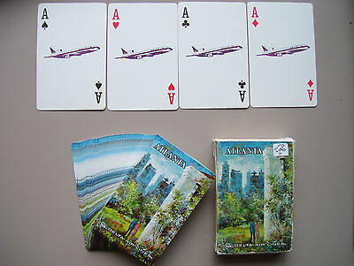 """Delta Airlines """"atlanta"""" Deck Of Playing Cards.(Unused=Mint)"""
