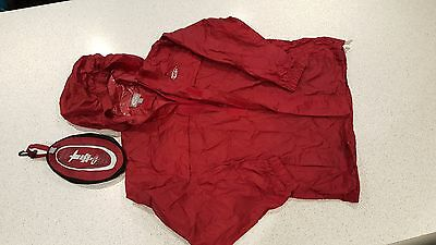 Childs Rainpod Jacket By Gelert Age 11-12 Yrs Red