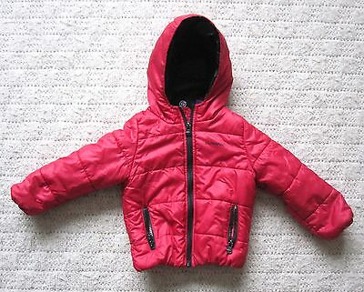 Surfanic Padded Hooded Jacket Colour Red Age 2+ Years