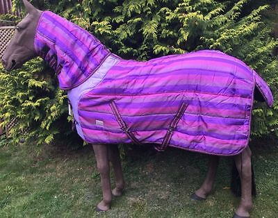 4'3 ft Combo Loveson Candy Stripe 400g Heavyweight Stable Rug