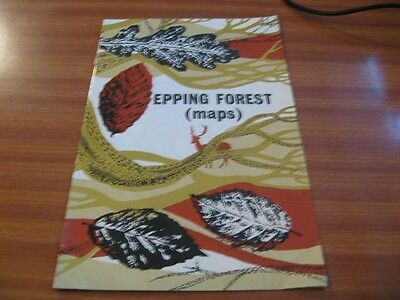 Vintage Epping Forest Map London