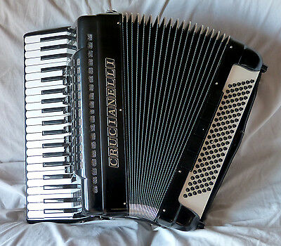 Crucianelli Musette Piano Accordion 120 Bass
