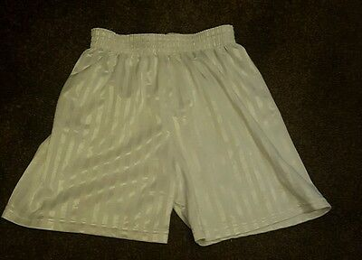 Boys Girls Unisex Polyester  School PE Sport Shorts Size 22/24""