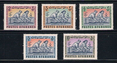 Afghanistan Postes Afghanes mint stamps - 1963 Afghan Scout, MNH