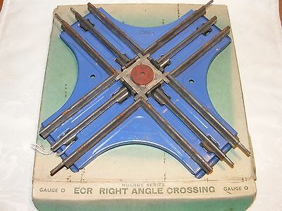 Hornby 'O' Gauge ECR2 Right Angle Crossing -Boxed- Meccano