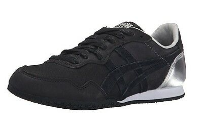 New Onitsuka Tiger D5P2L.9090 Serrano Black Unisex Running Shoes Size M 6.5 W 8