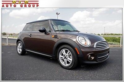 2012 Mini Cooper Hardtop Coupe  2012 Mini Cooper Hardtop Hot Chocolate Metallic Automatic One Owner Like New!