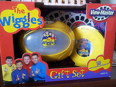 The Wiggles Viewmaster Gift Set  - New Factory Sealed