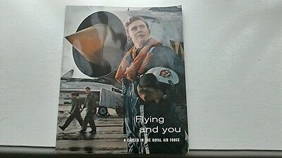 FLYING AND YOU A CAREER IN THE ROYAL AIR FORCE c1964 RAF MILITARY AVIATION