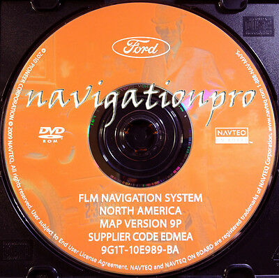 2007-2009 Ford Expedition Edge Explorer Mustang F-150 250 350 Navigation DVD 9P