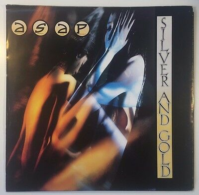 "ASAP silver & gold 12"" VINYL POSTER SINGLE - 12EMP 107 / 1989 / ADRIAN SMITH"