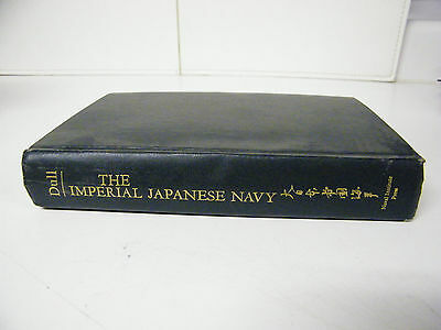 Vintage 1978 A Battle History Of The Imperial Japanese Navy 1941-1945 Book