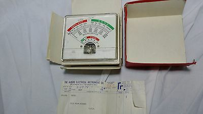 HICKOK tube tester replacement meter in the box