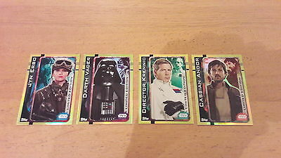 Pick 1 Topps Star Wars Rogue One Limited Edition Holographic Foil Cards - New