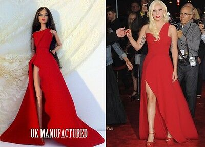 Celebrity Lady Gaga Red Dress For Fashion Royalty