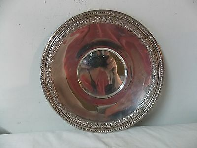 Vintage Reed & Barton 1201 Silverplate Epns Serving Tray Ornate Antique Silver
