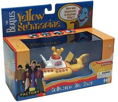 Beatles Yellow Submarine Factory Corgi Style Die Cast With 2 Propellers! M I B!