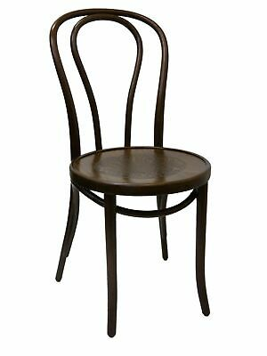 GENIUNE Thonet Chairs Bentwood FAMEG Timber Dining Chair Walnut