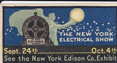United States Cinderella:  The New York Electrical Show