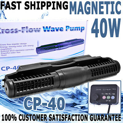 Jebao CP-40 Aqua Aquarium Fish Tank Reef Cross Flow Controllable Wave Maker Pump