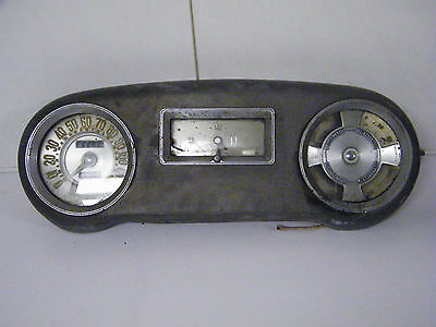 Vintage Dash Instrument Panel Gauge Cluster Hot Rod Rat Rod