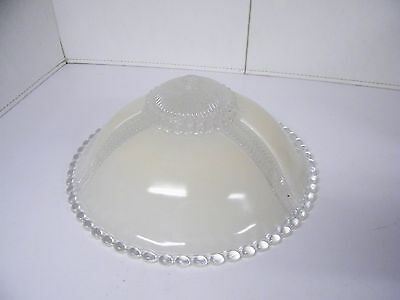Vintage Art Deco Glass Shade Ceiling Light Fixture Chandelier