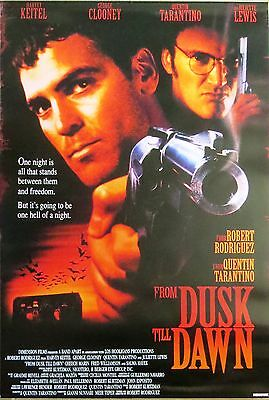 """From Dusk Till Dawn Poster  """"licensed"""" Brand New """"quentin Tarantino"""""""