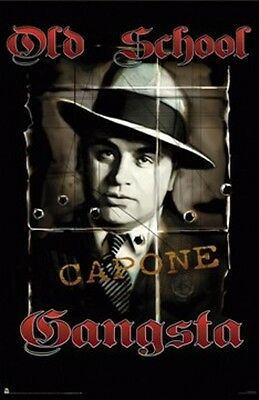 "Al Capone Poster ""old Gangsta"" Licensed ""brand New"""