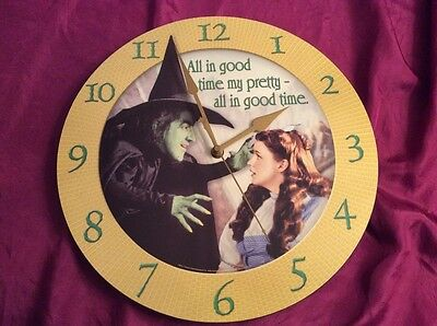 Wizard of oz, wicked witch of the west clock