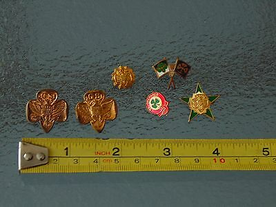 VINTAGE GIRL SCOUT PIN LOT rare ?