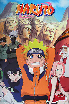 "Naruto Poster ""statue"" Licensed ""brand New"""